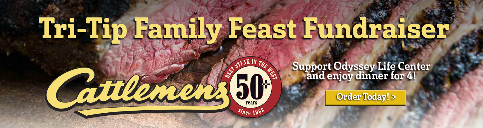 tri-tip family feast at cattlemens